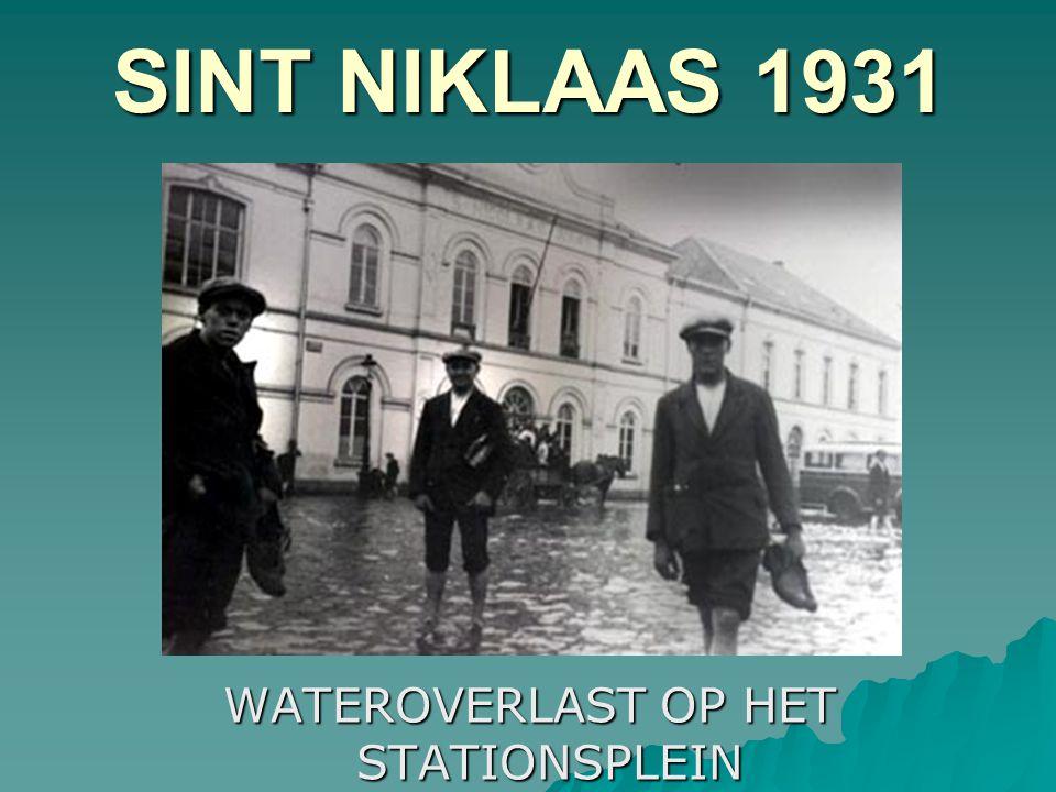 WATEROVERLAST OP HET STATIONSPLEIN