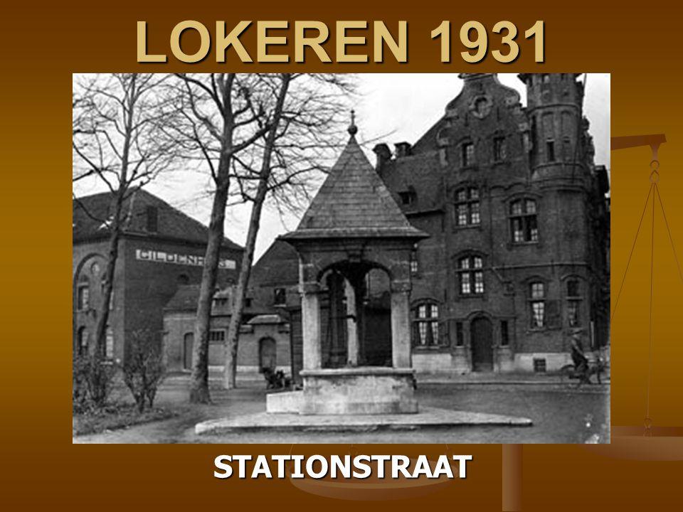 LOKEREN 1931 STATIONSTRAAT