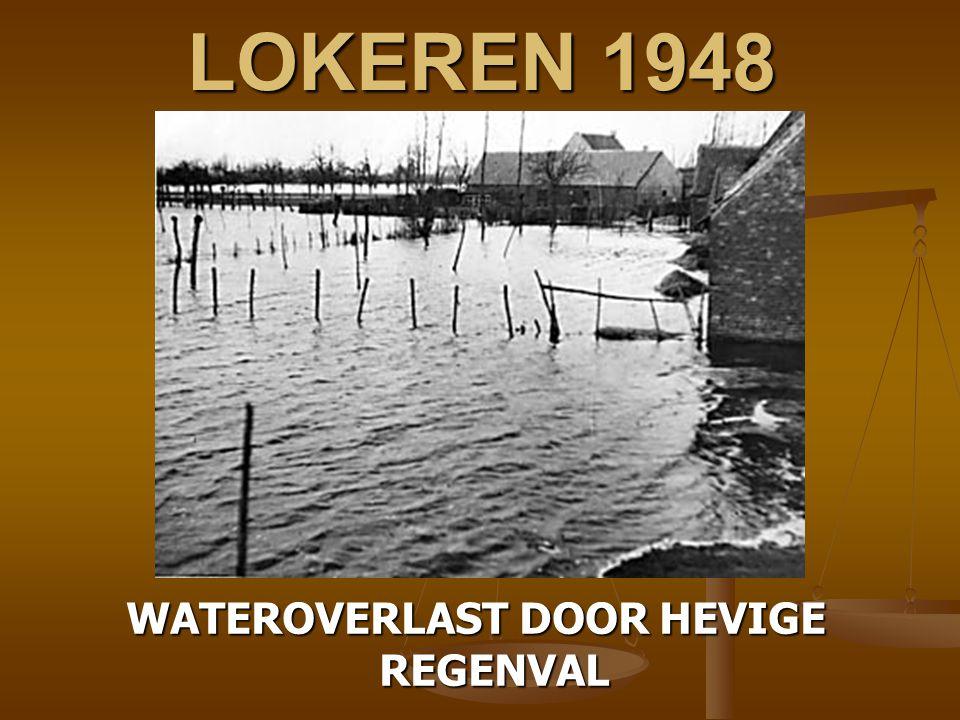 WATEROVERLAST DOOR HEVIGE REGENVAL