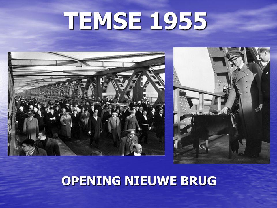 TEMSE 1955 OPENING NIEUWE BRUG