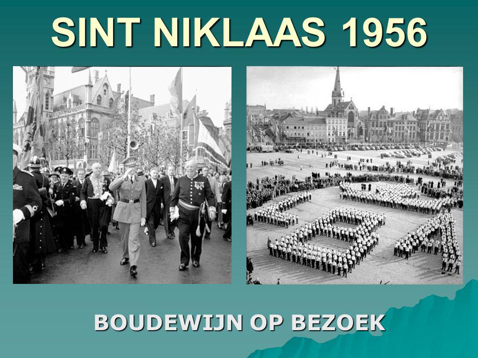 SINT NIKLAAS 1956 BOUDEWIJN OP BEZOEK