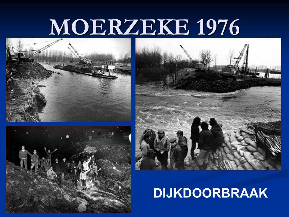 MOERZEKE 1976 DIJKDOORBRAAK