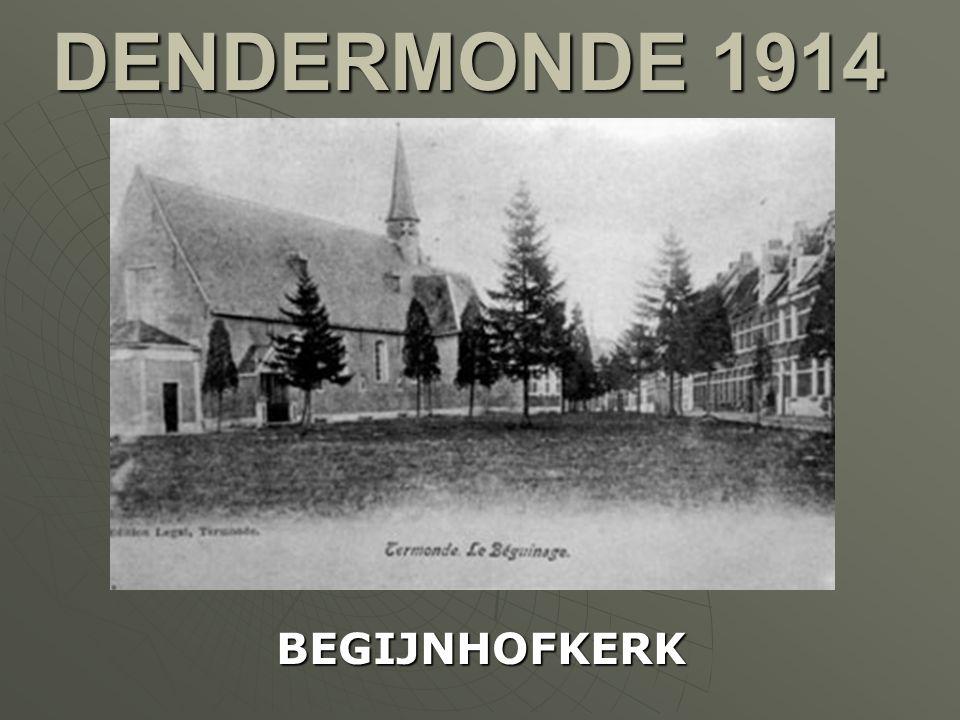 DENDERMONDE 1914 BEGIJNHOFKERK