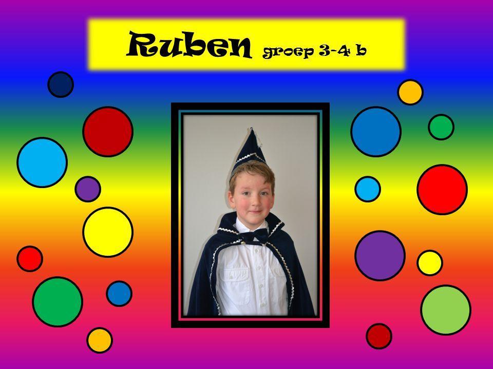Ruben groep 3-4 b