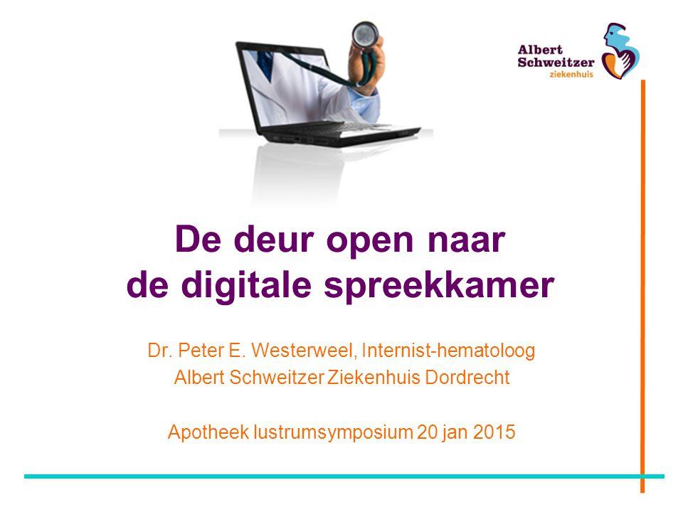 De deur open naar de digitale spreekkamer