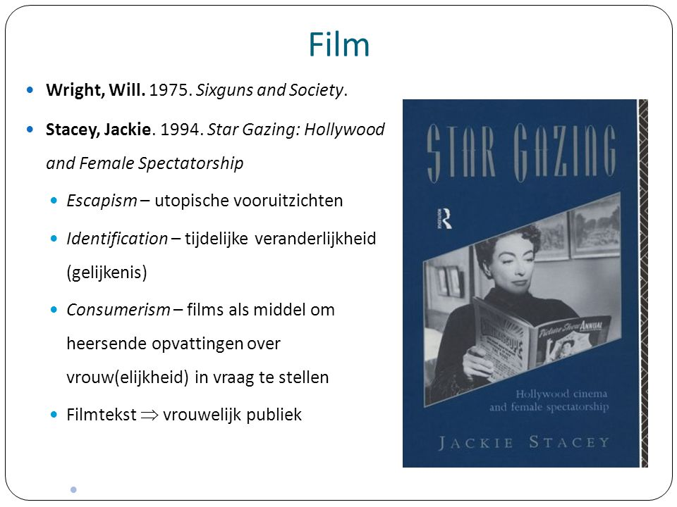 Film Wright, Will. 1975. Sixguns and Society.