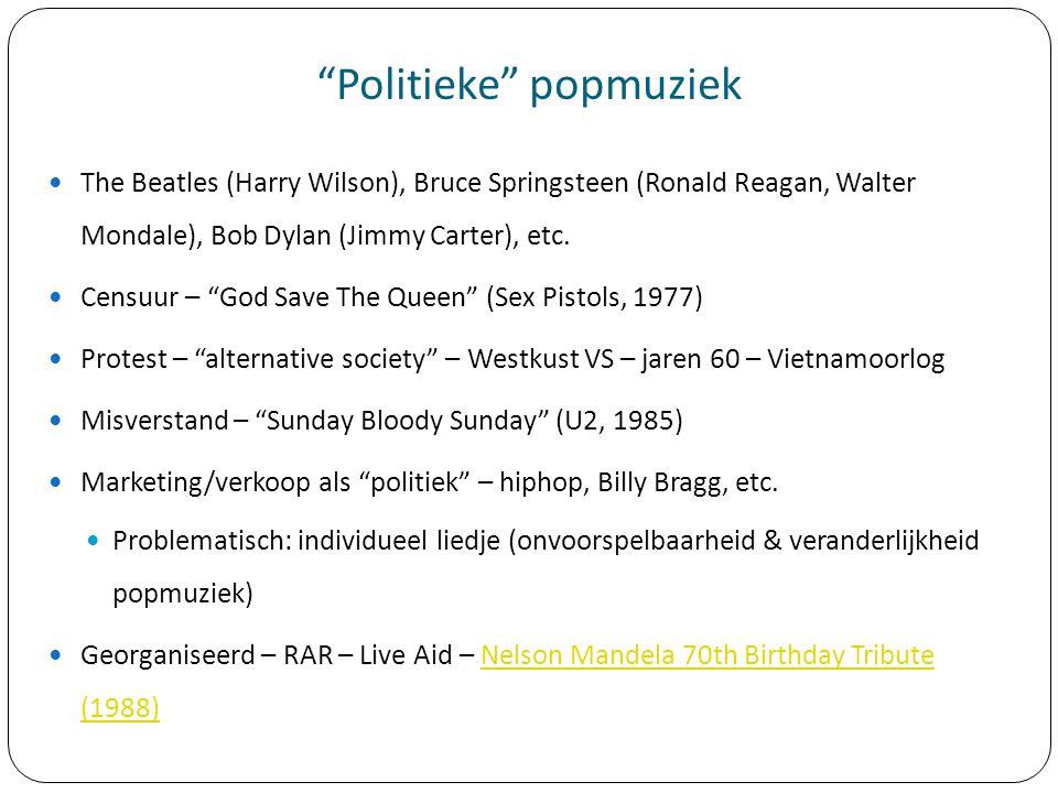 Politieke popmuziek