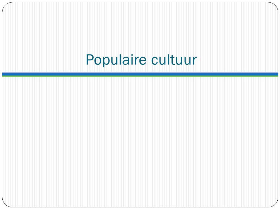 Populaire cultuur