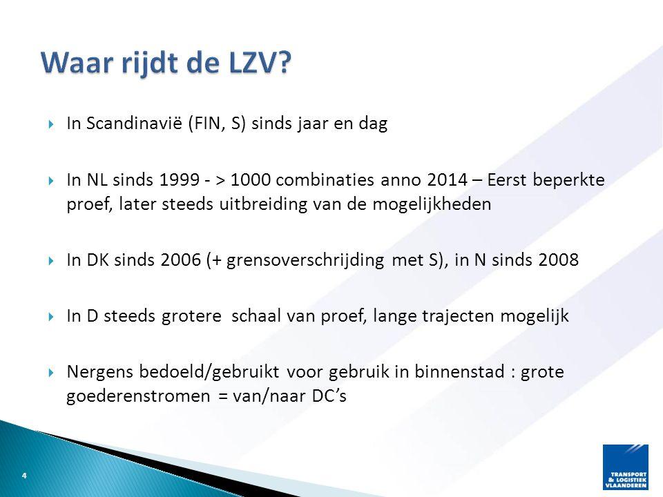 Waar rijdt de LZV In Scandinavië (FIN, S) sinds jaar en dag
