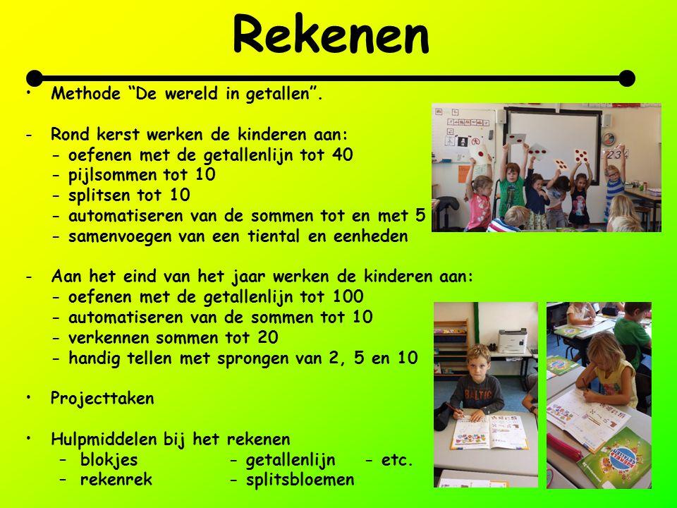 Rekenen Methode De wereld in getallen .