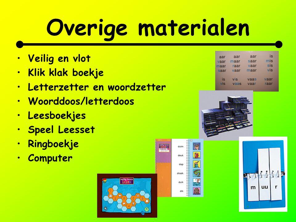 Overige materialen Veilig en vlot Klik klak boekje