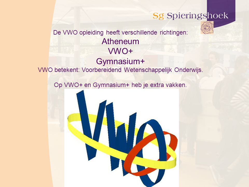Atheneum VWO+ Gymnasium+