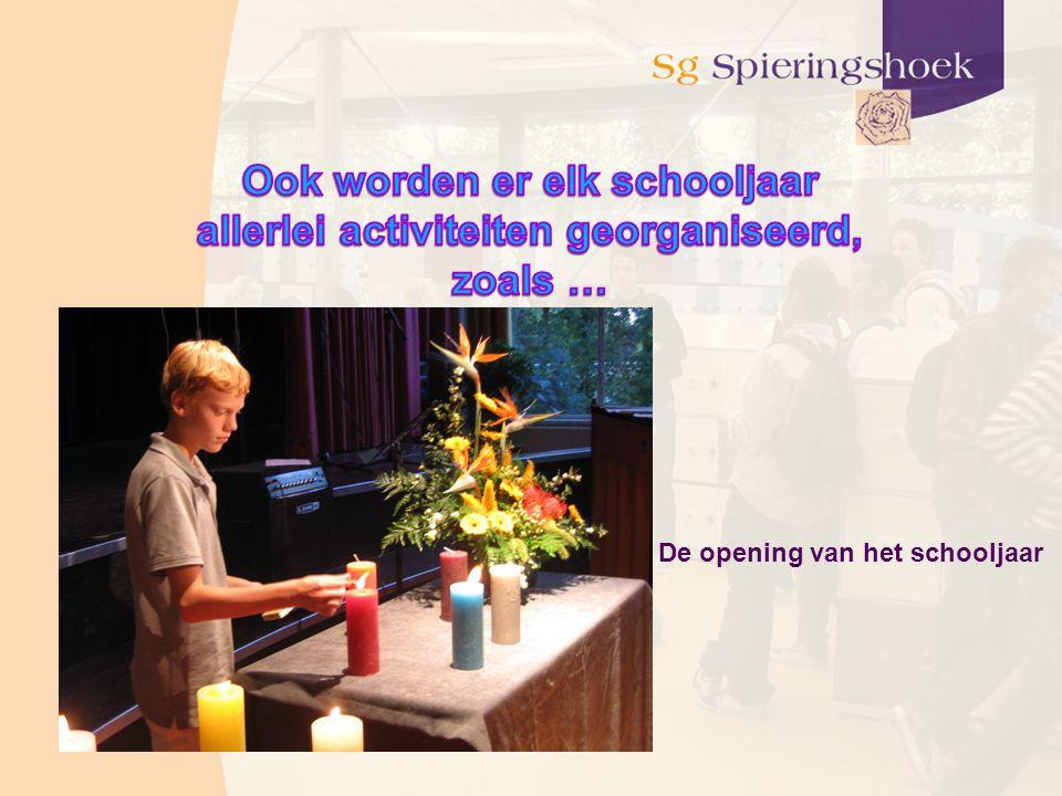 Ook worden er elk schooljaar allerlei activiteiten georganiseerd,