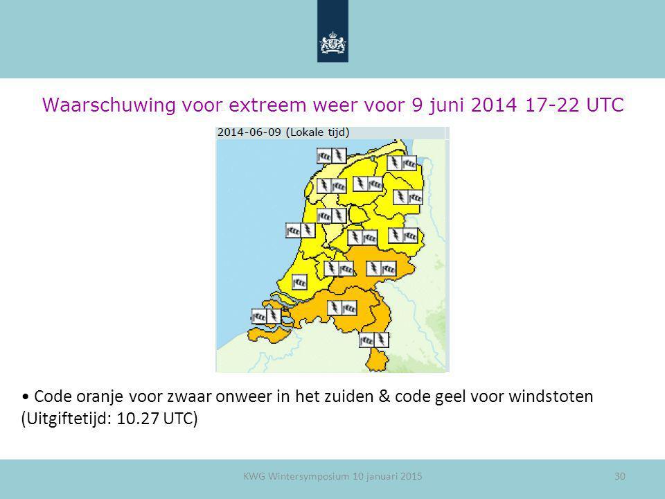Waarschuwing voor extreem weer voor 9 juni 2014 17-22 UTC