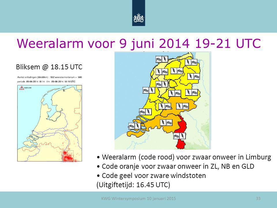 Weeralarm voor 9 juni 2014 19-21 UTC