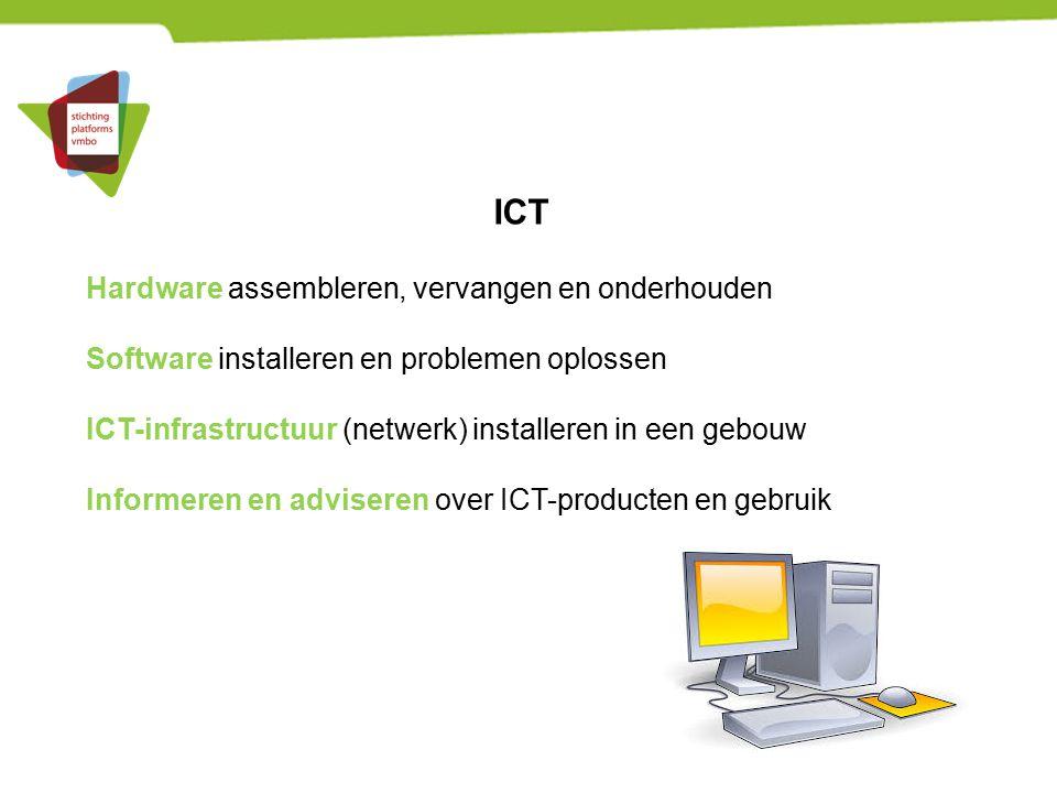 ICT Hardware assembleren, vervangen en onderhouden