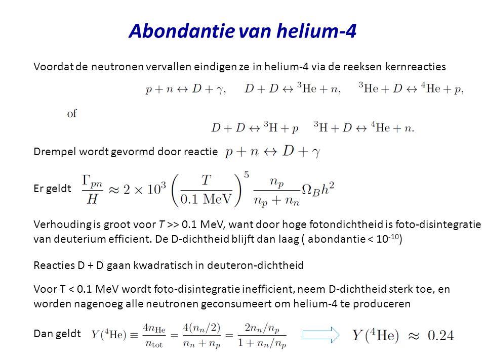 Abondantie van helium-4