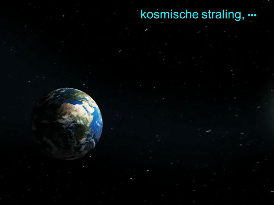 natural accelerator: kosmische straling, •••