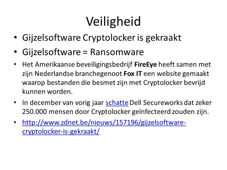 Veiligheid Gijzelsoftware Cryptolocker is gekraakt