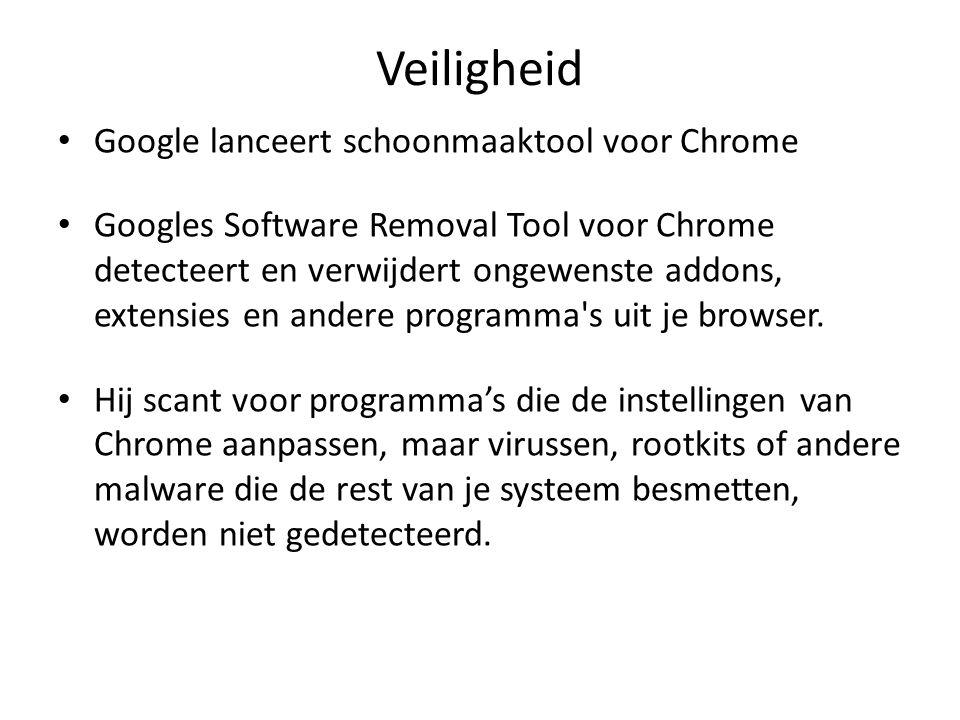 Veiligheid Google lanceert schoonmaaktool voor Chrome