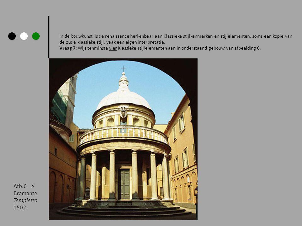 Afb.6 > Bramante Tempietto 1502