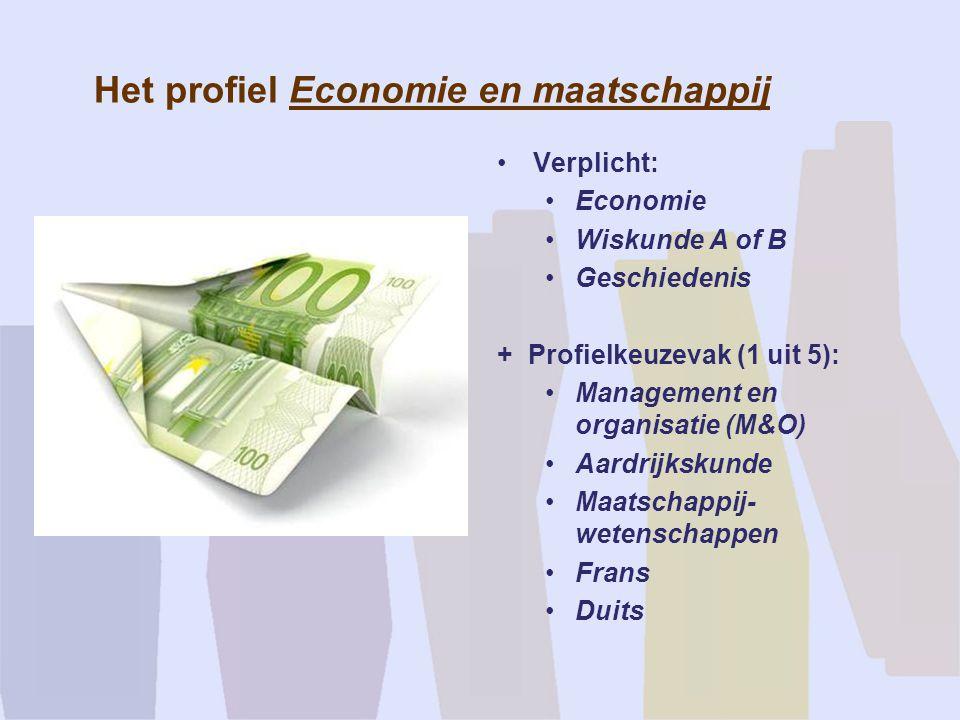Het profiel Economie en maatschappij