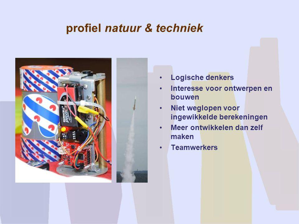 profiel natuur & techniek