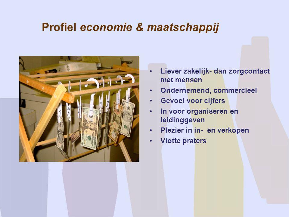 Profiel economie & maatschappij
