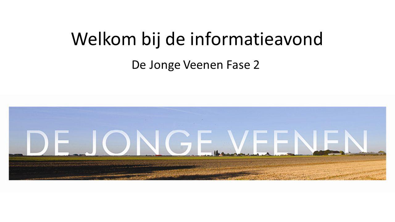 Welkom bij de informatieavond De Jonge Veenen Fase 2