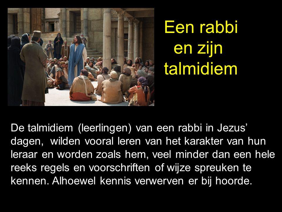 Een rabbi en zijn talmidiem