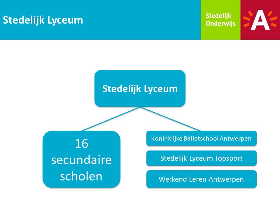 16 secundaire scholen Stedelijk Lyceum Stedelijk Lyceum