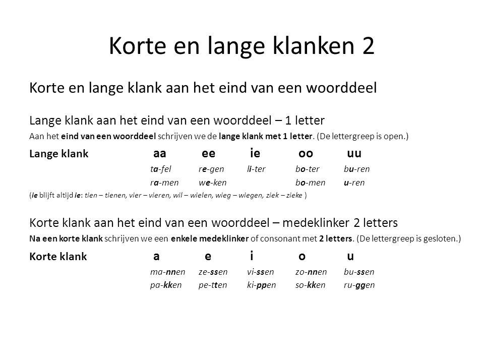 letters en klanken van het nederlands ppt video online download. Black Bedroom Furniture Sets. Home Design Ideas