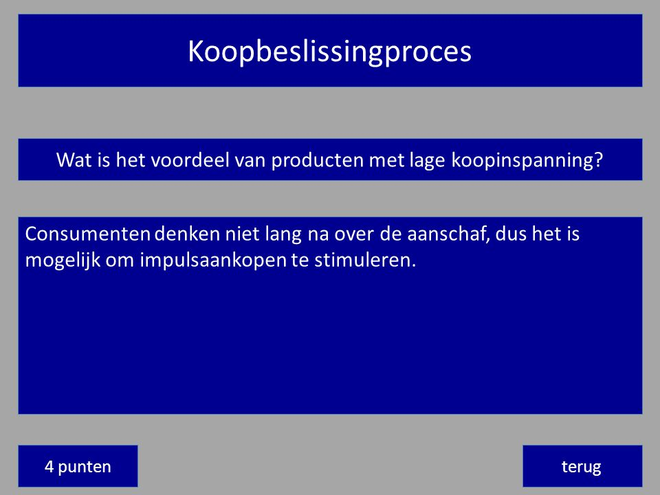 Koopbeslissingproces