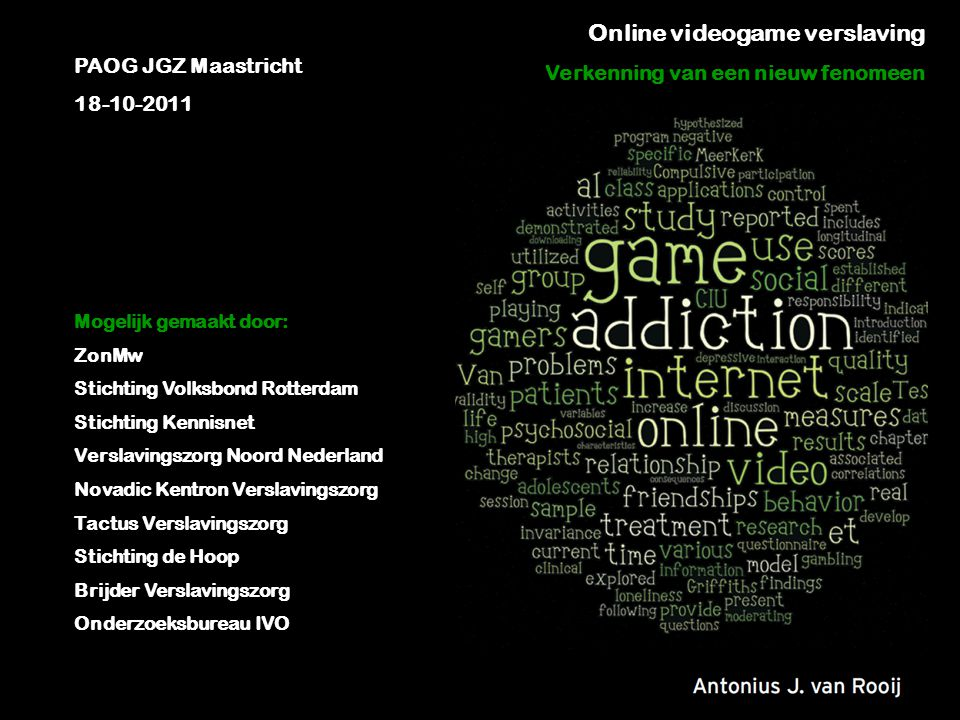 Online videogame verslaving