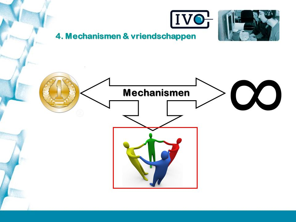 4. Mechanismen & vriendschappen
