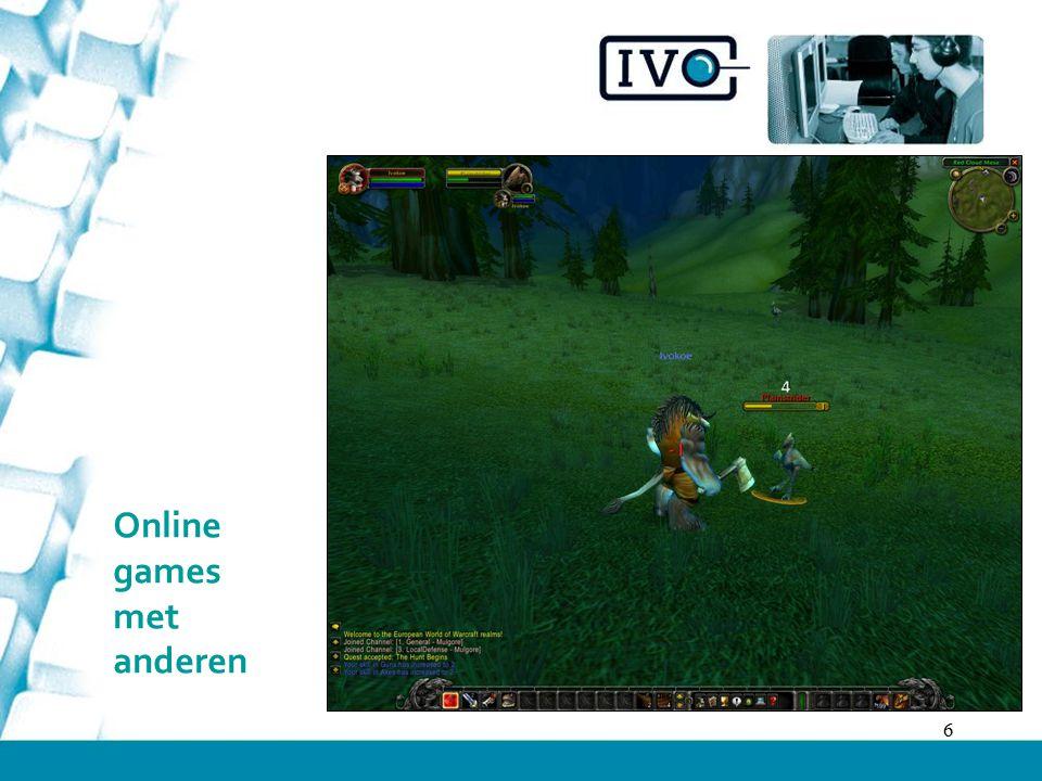 Online games met anderen