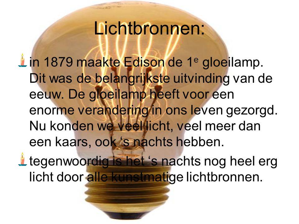 Lichtbronnen: