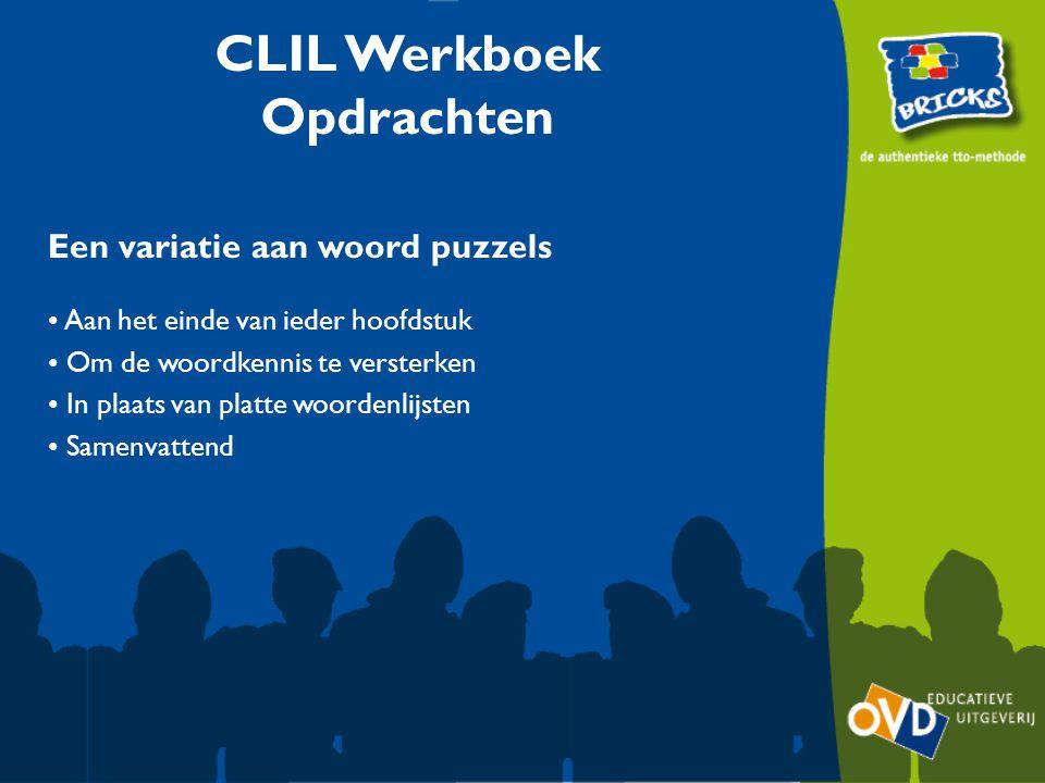 CLIL Werkboek Opdrachten