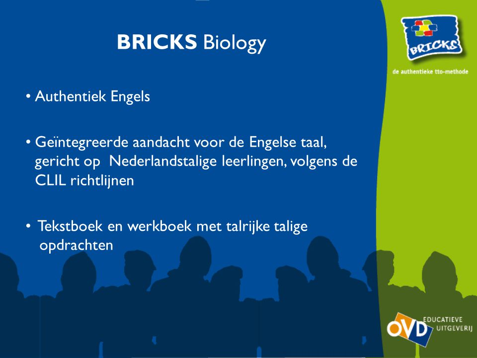 BRICKS Biology Authentiek Engels