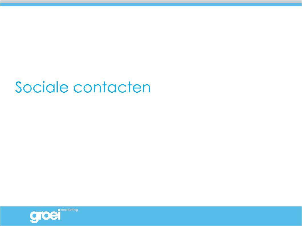 Sociale contacten