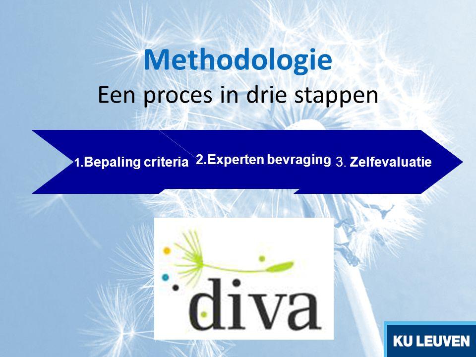 Methodologie Een proces in drie stappen