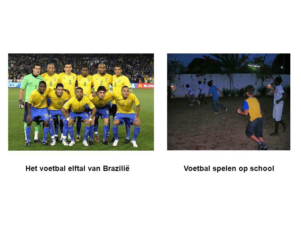 Het voetbal elftal van Brazilië