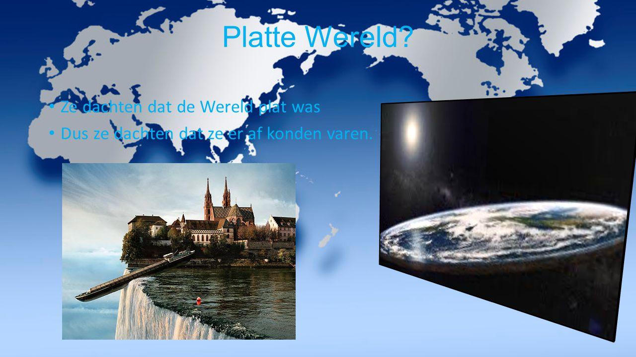 Platte Wereld Ze dachten dat de Wereld plat was