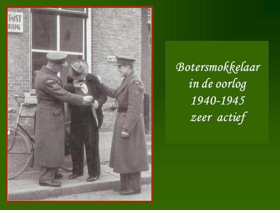 Botersmokkelaar in de oorlog 1940-1945 zeer actief