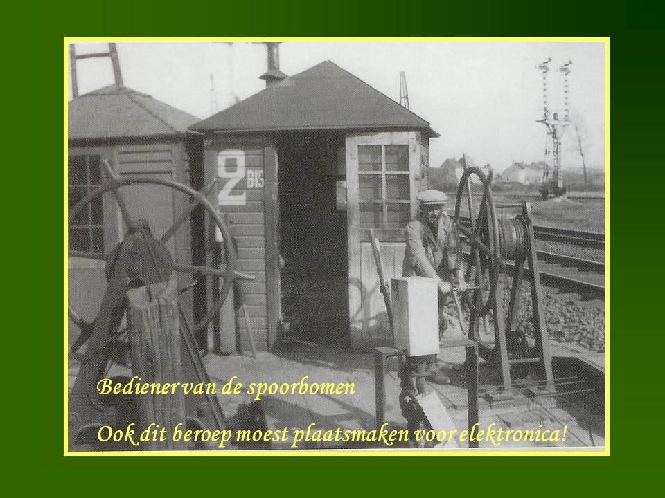 Bediener van de spoorbomen