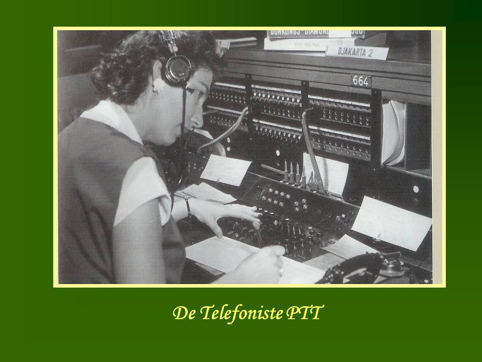 De Telefoniste PTT