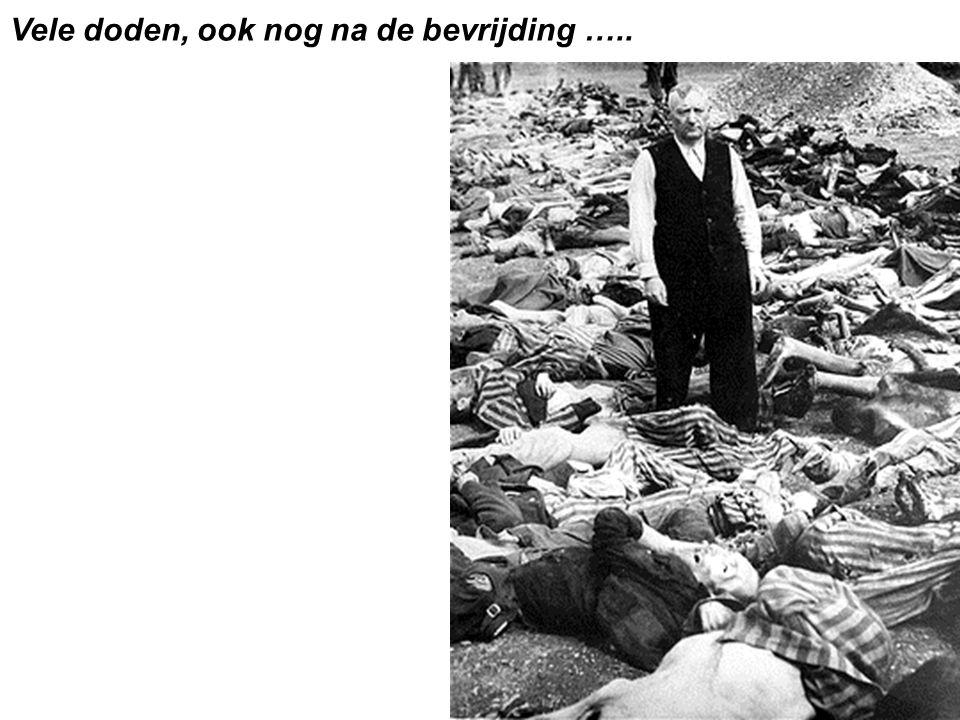 Vele doden, ook nog na de bevrijding …..