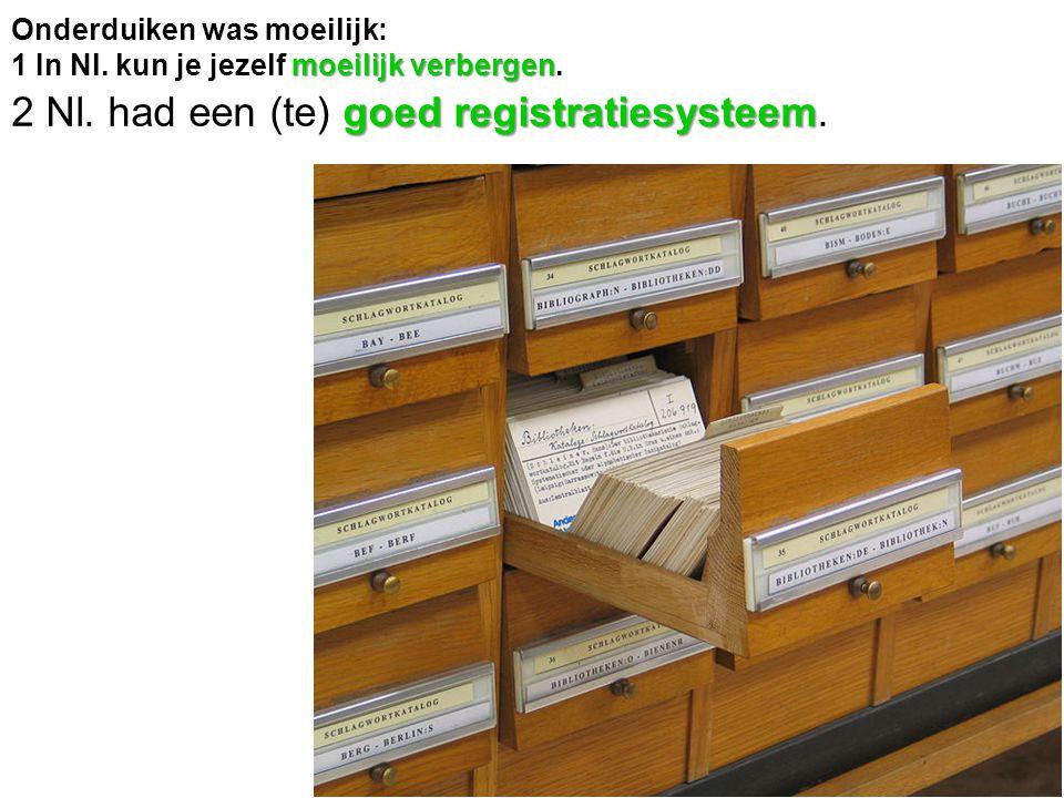 2 Nl. had een (te) goed registratiesysteem.