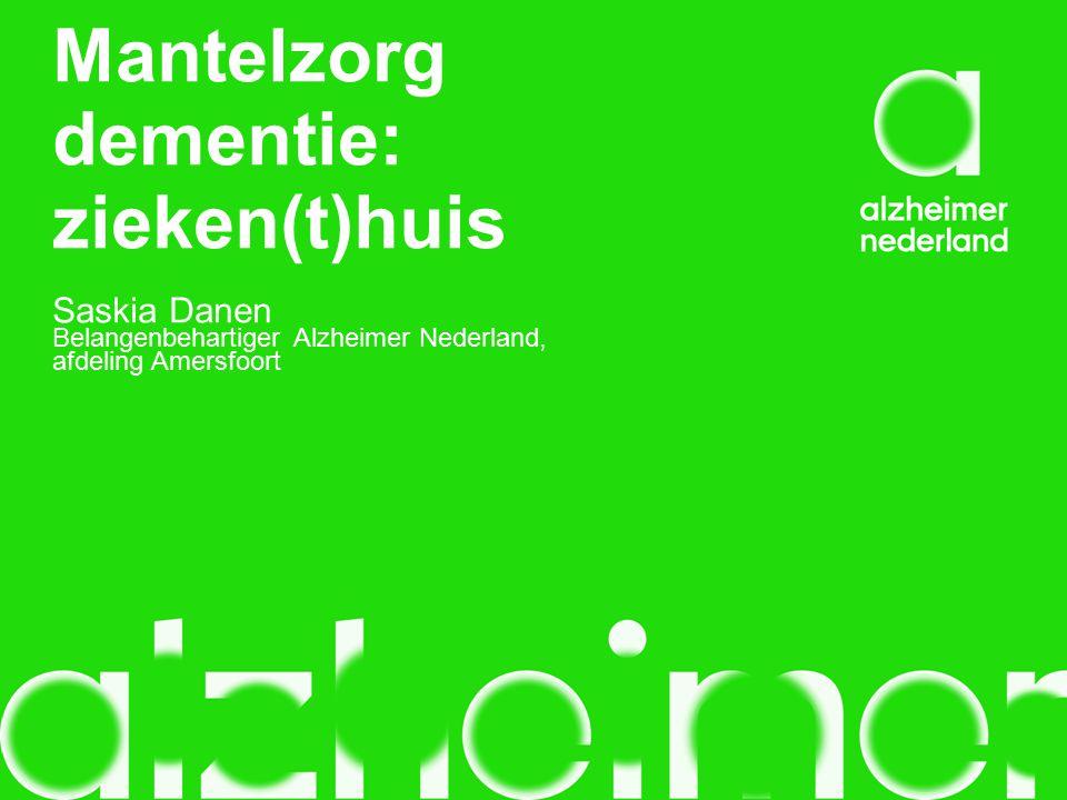 Mantelzorg dementie: zieken(t)huis