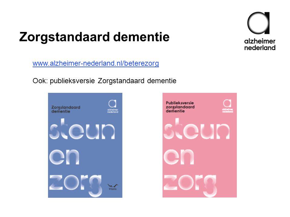 Zorgstandaard dementie